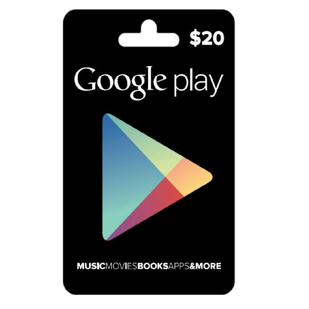 Googpl20 google play gift card 20 %281%29