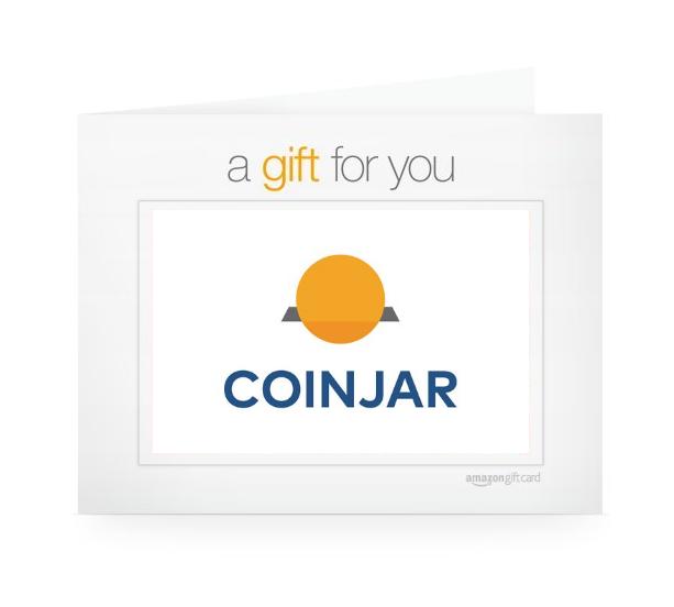 Amazon gc coinjar