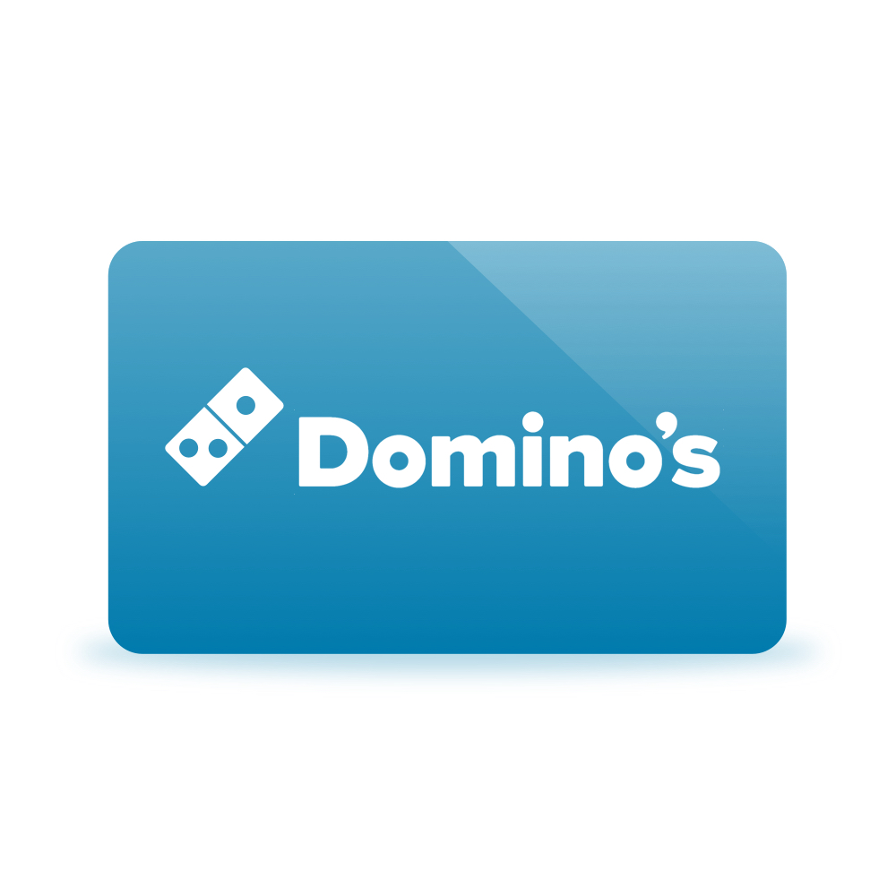Gift card dominos